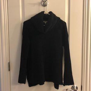 Black BB Dakota Turtleneck Sweater